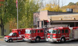 Fire Station Vehicles & EMT